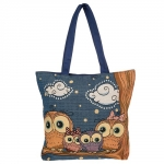 JD274245 4Owls on a Branch LToteBag image